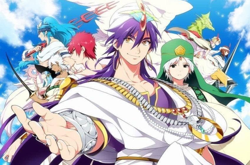 magi anime watch order