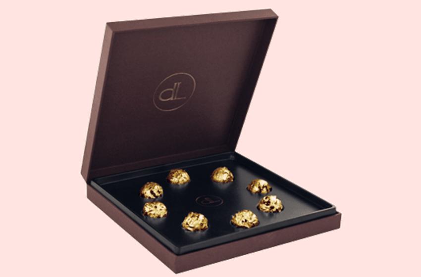 DeLafée Gold Chocolate Truffles