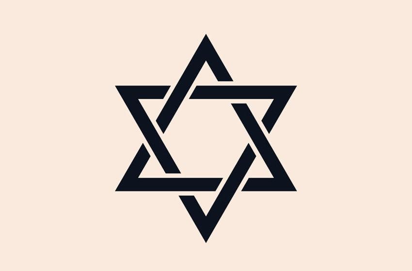 Six-Pointed Star Tattoo
