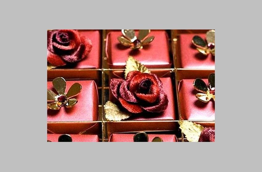 Swarovski Studded Chocolate
