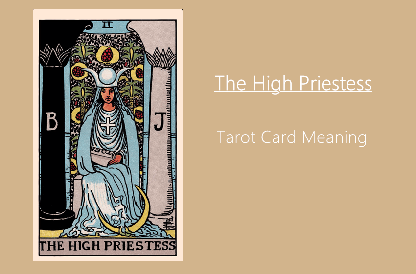 what does the high priestess tarot card mean